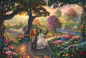 Gone With The Wind The Thomas Kinkade pany