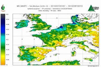 Europe Soil Moisture Decrease Esa Soils Dry