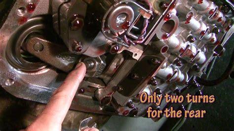 adjust bands  change automatic transmission