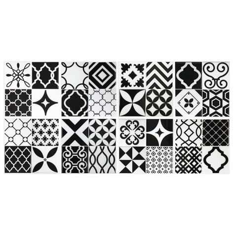 carrelage noir et blanc cuisine carrelage mural vintage noir et blanc achat vente
