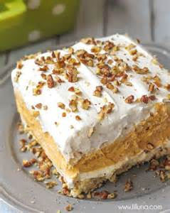 Pumpkin And Cheesecake Layered Dessert by For The Love Of Pumpkin My Honeys Place