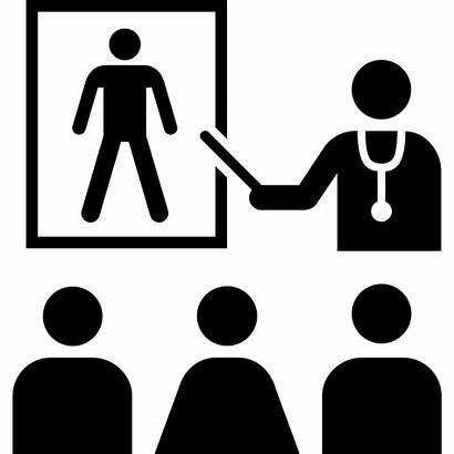 Education Health Clipart Medical Transparent Project Icon