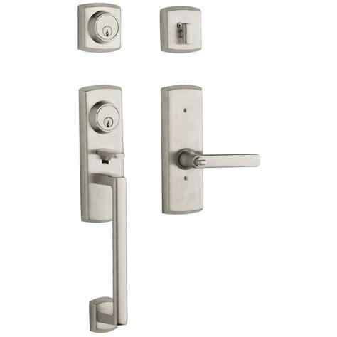 Baldwin Estate Series 85385 Soho Two Point Lock Handleset