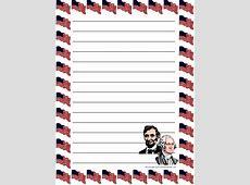 Patriotic Stationery Printable New Calendar Template Site