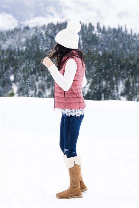 Look Chic in a Puffer Vest (Suncadia Part 1) | Just a Tina Bit