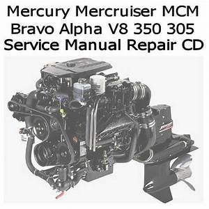 Mercury Mercruiser Marine Engines Gm 350 305 V8 Service