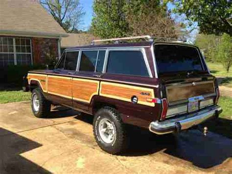 1989 jeep wagoneer interior sell used 1989 jeep grand wagoneer base sport utility 4