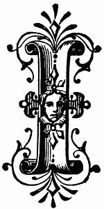 I, Ornamental letter | ClipArt ETC  I