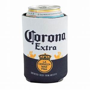 corona beer 12 oz label can cooler With corona beer label
