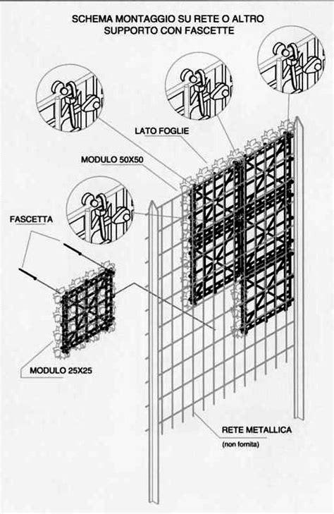 Rete Con Foglie Per Balconi Giardino E Naterial Verde L X
