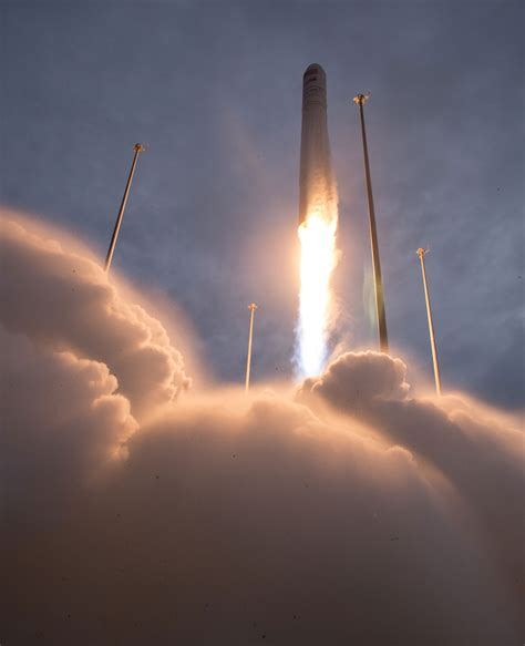 Orbital Atk Antares Rocket Successfully Launches From