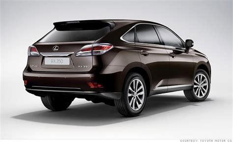 luxury suv lexus rx consumer reports names