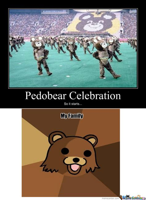 Celebration Meme - rmx pedobear celebration by mp star meme center
