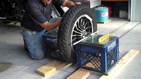 balance motorcycle wheel  tire  home youtube