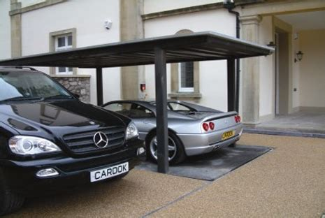 pop up garage bond style parking for your driveway