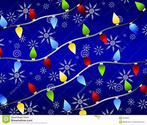 Christmas Lights Snowflakes Stock Photo - Image: 3598450