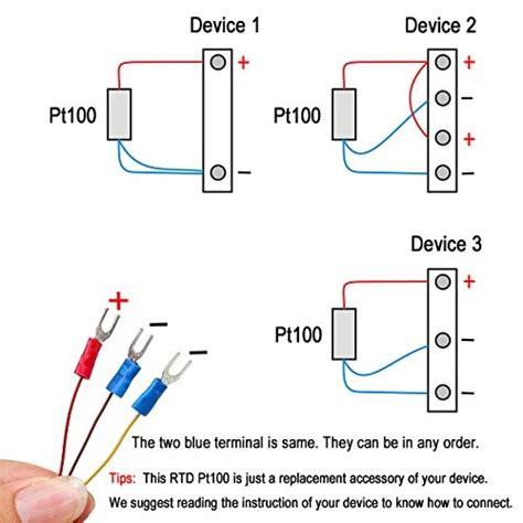 sonda de sensor de temperatura crocsee rtd pt100 3 hilos 122 900 en mercado libre