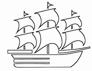 Beautiful Boat Coloring Pages For Kids