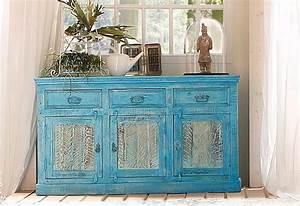 Sideboard 140 Cm Breit : sit sideboard blue 140 cm breit online kaufen otto ~ Frokenaadalensverden.com Haus und Dekorationen