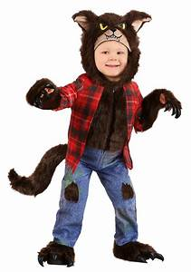 Rubies Costume Size Chart Toddler Werewolf Brown Costume