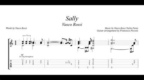 Canzone Vasco Tab by Vasco Spartiti Il Si 232 Addormentato Accordi