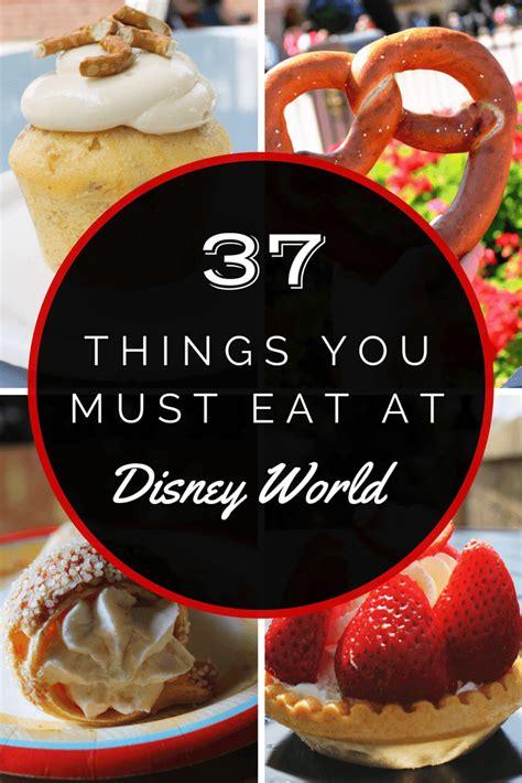 disney cuisine 37 things you must eat at disney