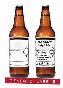 Garagemonkcom writable generic beer labels keg growler for Beer bottle label size