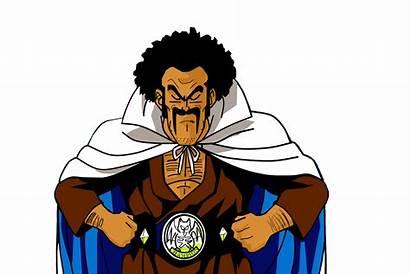 Satan Dragon Ball Mr Characters Hercule Lil