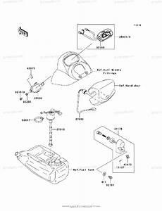 Kawasaki Jet Ski 2005 Oem Parts Diagram For Meters