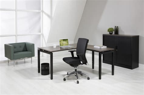 bureau luxe luxe bureau zwart 180x80cm aanbouwtafel
