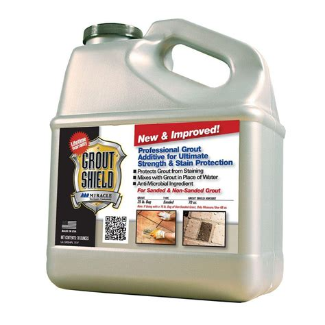 miracle sealants 70 oz grout shield new and improved gr