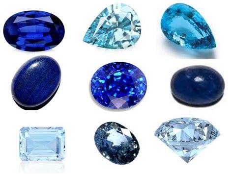 Blue Gemstones - Most Popular Names