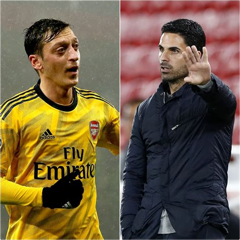 Mesut Ozil 'deeply disappointed' by Arsenal Premier League ...