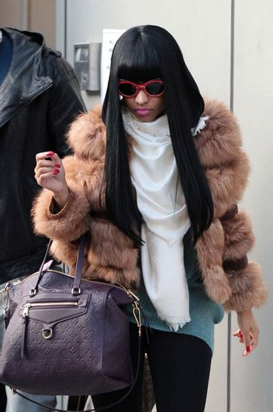 nicki minaj   furry fashion statement rap