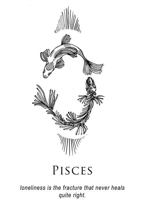 Amrit Brar's Portfolio - Book III: Petty Existential Crises | Ink Inspiration | Pisces tattoos