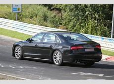 Spyshots 2017 Audi A8 Test Mule Spotted at the