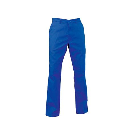 pantalon cuisine pas cher pantalon de travail polycoton bleu pas cher label blouse