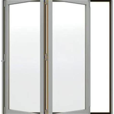 jeld wen w 4500 series left folding wood patio door