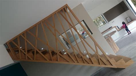 garde corps en bois pour escalier escalier