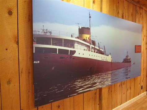 Edmund Fitzgerald Sinking Cause northern michigan drive brings waterfalls bears ship
