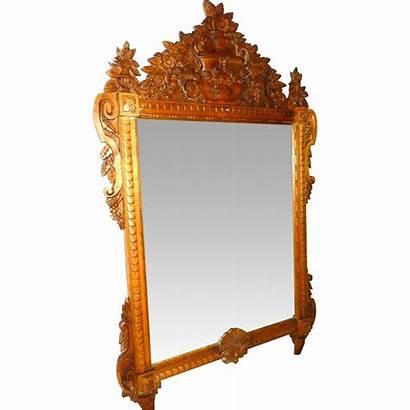Mirror Wood Carved Antique Framed Antiques 2311
