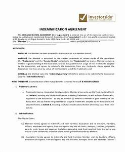 10 indemnity agreements free sample example format With indemnity waiver template