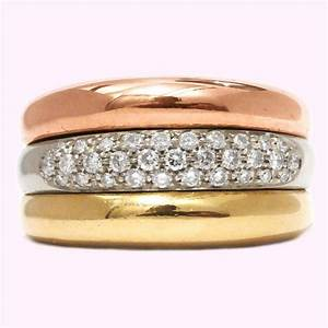 Bague 3 Ors Cartier Diamant Cool Costume Jewelry For You