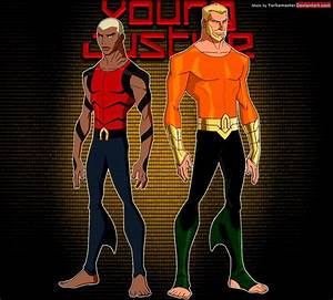 Young Justice: Aquaman and Aqualad by YorkeMaster on ...