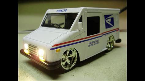 New Llv Postal Vehicle by S Custom Diecast Grumman Usps Llv Vehicle
