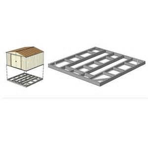 arrow storage sheds foundation base kit 6x5 or 4x7 fdn477