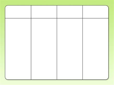 Gantt Chart Excel Templates Blank Chart Template 4 Column Simple Portrait Furthermore Laurelsimpson Com