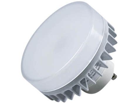 gu24 led light bulb maxlite dimmable 9w 3000k led puck bulb gu24 base