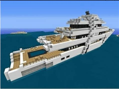 Mak Yacht by How To Make Yacht In Minecraft Pocket Edition Very Easy