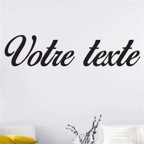stickers muraux personnalise texte sticker texte personnalis 233 calligraphie romantique stickers texte personnalisable texte